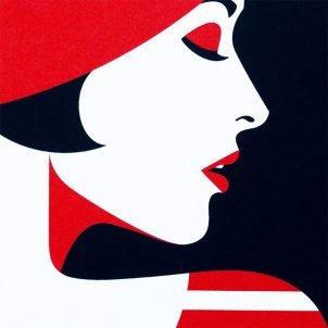 Pop Art meets Op Art by Malika Favre