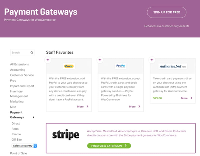 woocommerce payment gateways opcije za online placanje