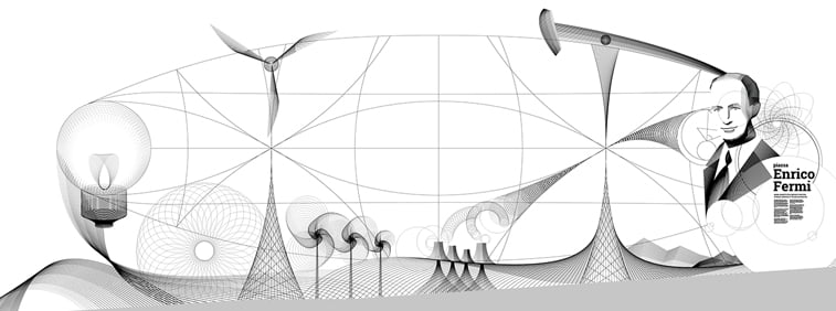 Andrea-Minini ilustracije Expo 2017 Enriko Fermi