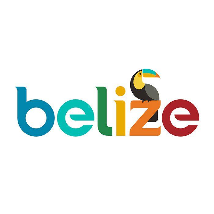 belize tourism logo dizajn