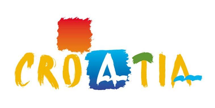 visit croatia logo dizajn
