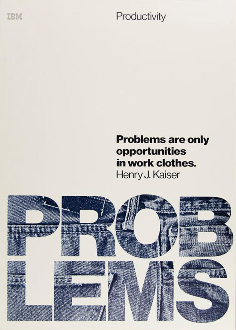 IBM plakati problemi mogucnosti