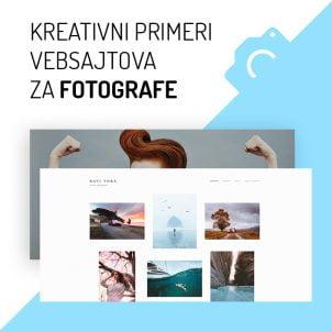 Kreativni primeri vebsajtova za fotografe