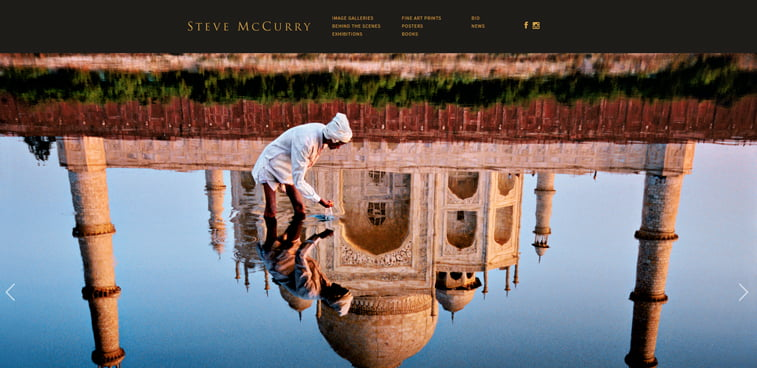 Steve McCurry fotograf