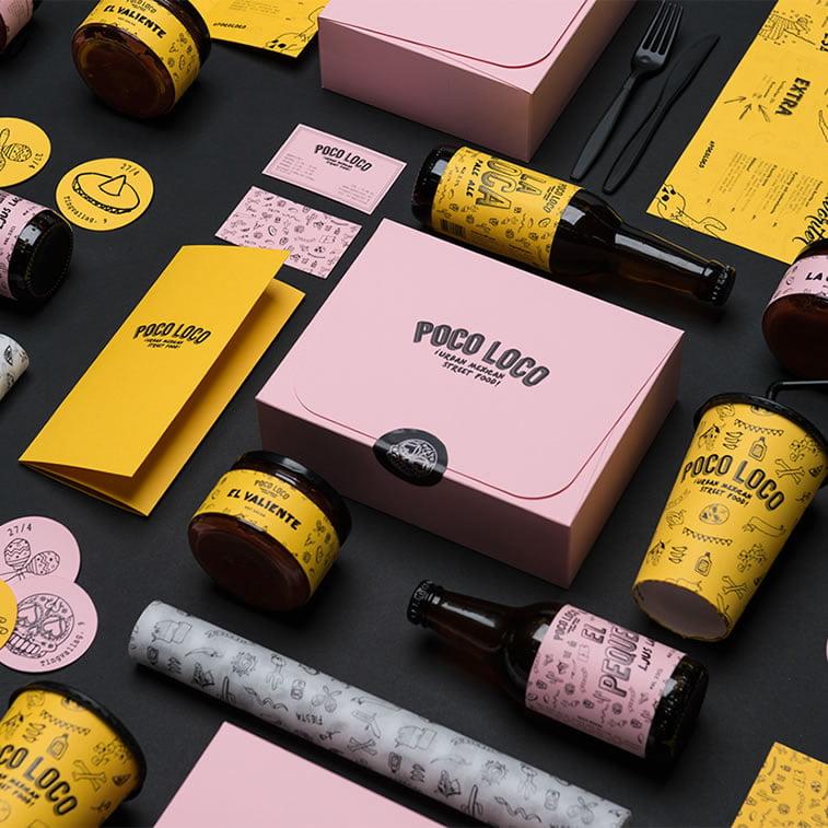 20+ restaurant branding examples