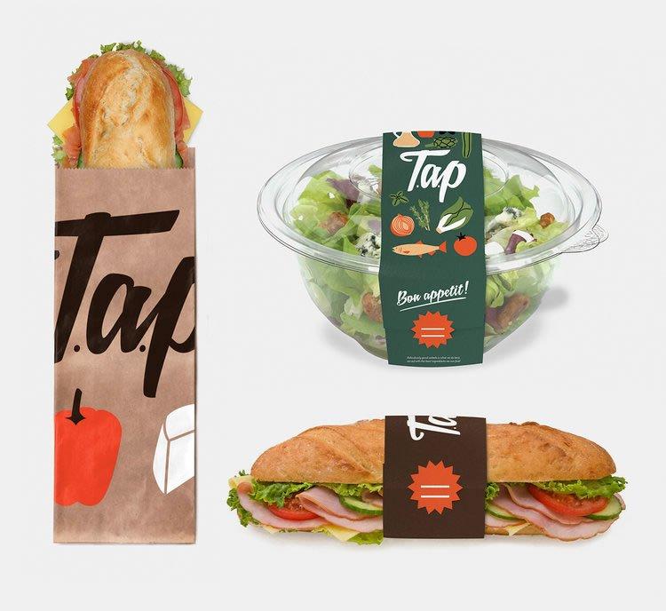 restaurant branding examples 16