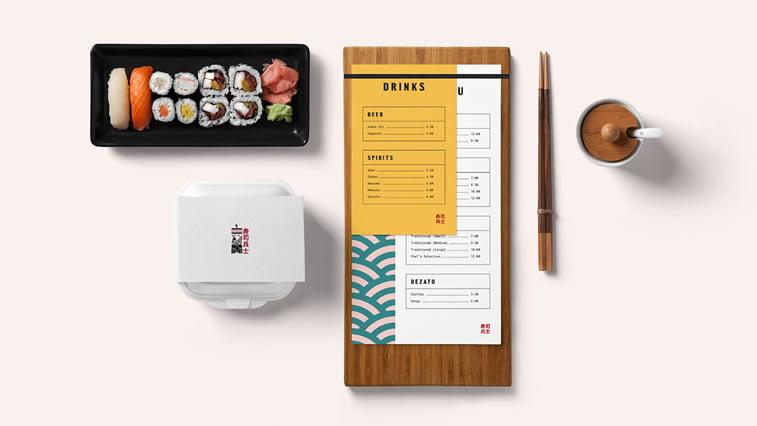 restaurant branding examples 7