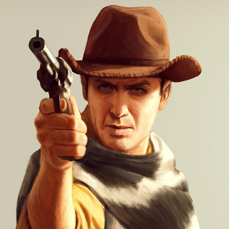 toy story spaghetti western 6 sheriff woody