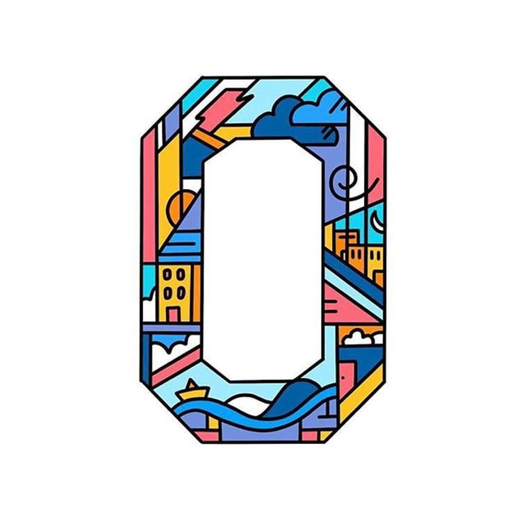 36 dana tipografije broj 0