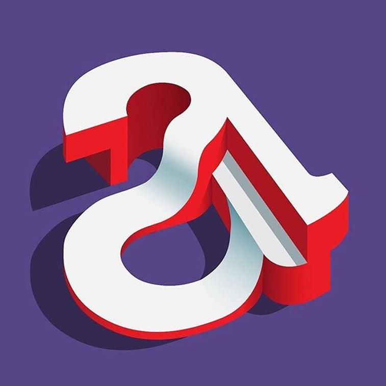 36 dana tipografije slovo A