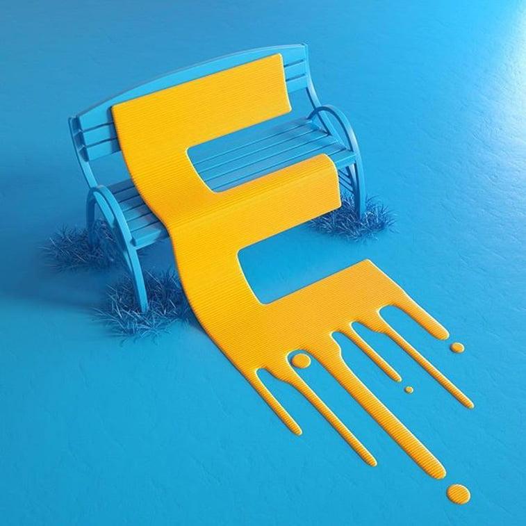 36 dana tipografije slovo E