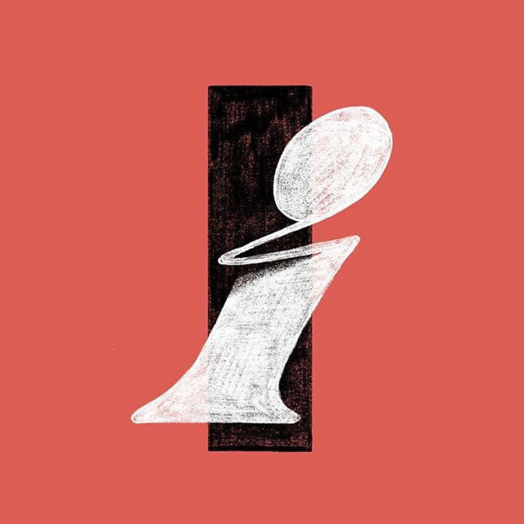 36 dana tipografije slovo I