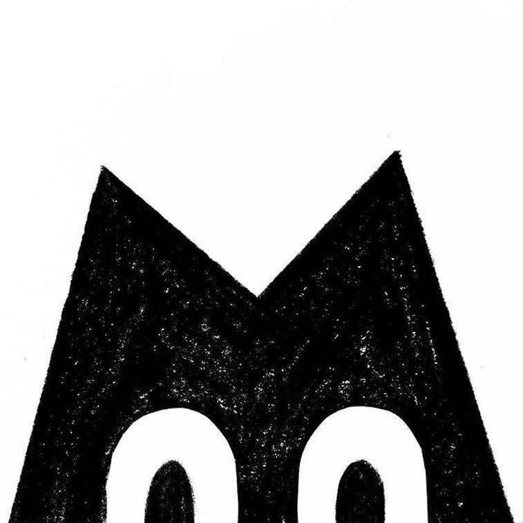 36 dana tipografije slovo M