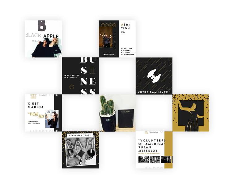 black apple magazine 6 dizajn behance