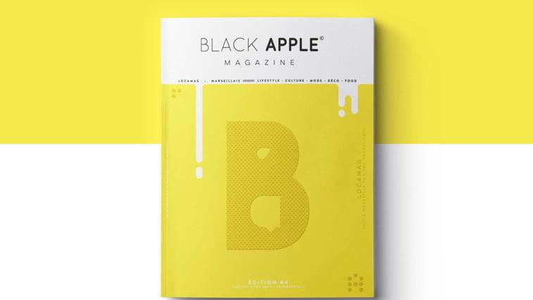black apple Magazine minimalizam