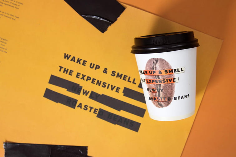 coffee cup packaging design 1