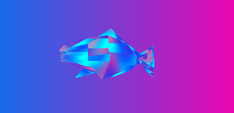 CSS3 ilustracija riba css dizajn