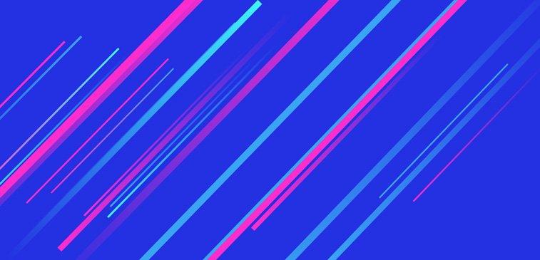 CSS3 ilustracija zvezda padalica apstraktno linije