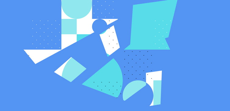 CSS3 ilustracija geometrija interaktivno