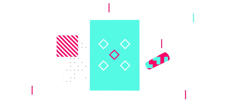 CSS3 ilustracija geometrijski oblici