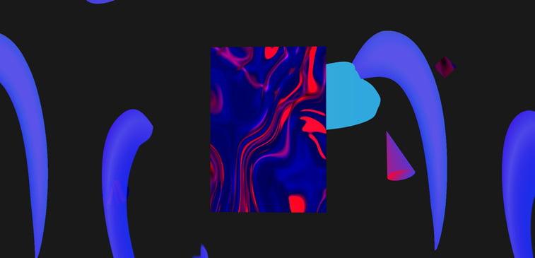 CSS3 ilustracija ogledalo looking glass apstraktno