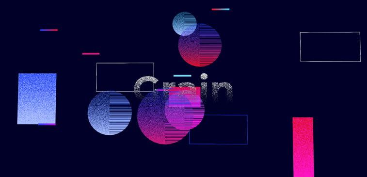 CSS3 ilustracija grain sfere boje senčenje