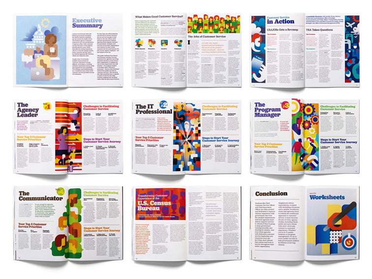 casopis za javni sektor layout unutrasnjih stranica spread