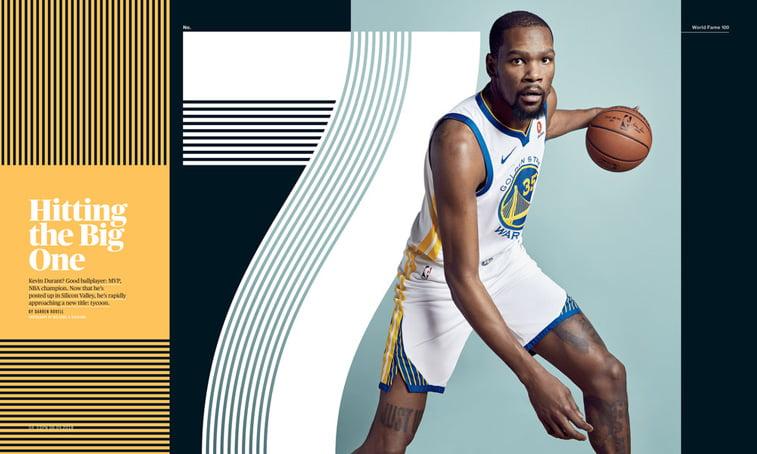 espn magazine jun 2018 Kevin Durant