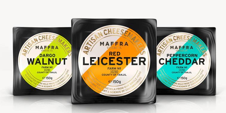 Maffra sir dizajn pakovanja