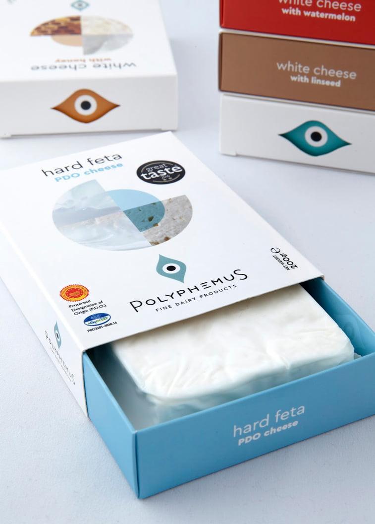 Polyphemus sir kutija ambalaza dizajn pakovanja