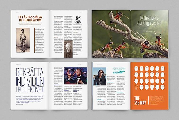 we magazine spread layout stranice casopisa