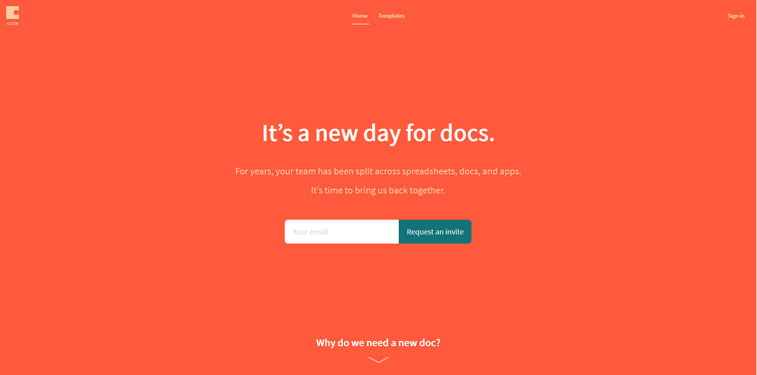 coda design documentation tool
