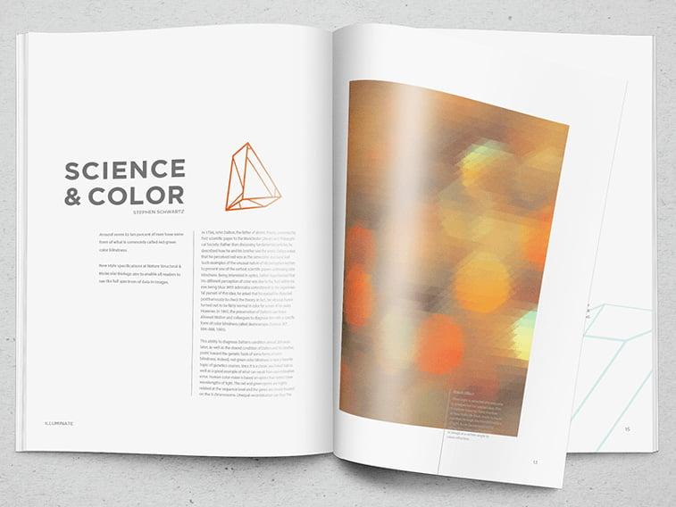 illumnitae magazine nauka i boje clanak layout caspopisa prelom