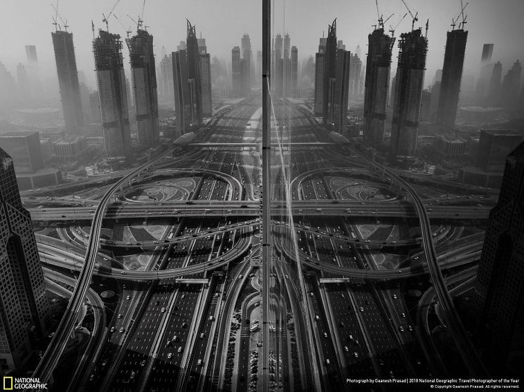 7 reflection gaanesh prasad dubai uae nat geo cities third winner