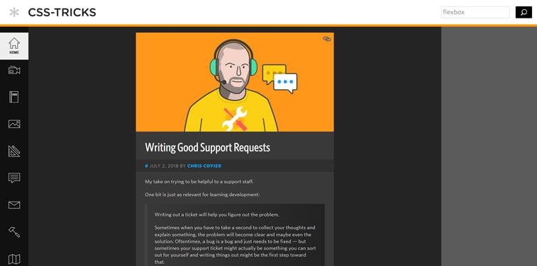 CSS-tricks blog