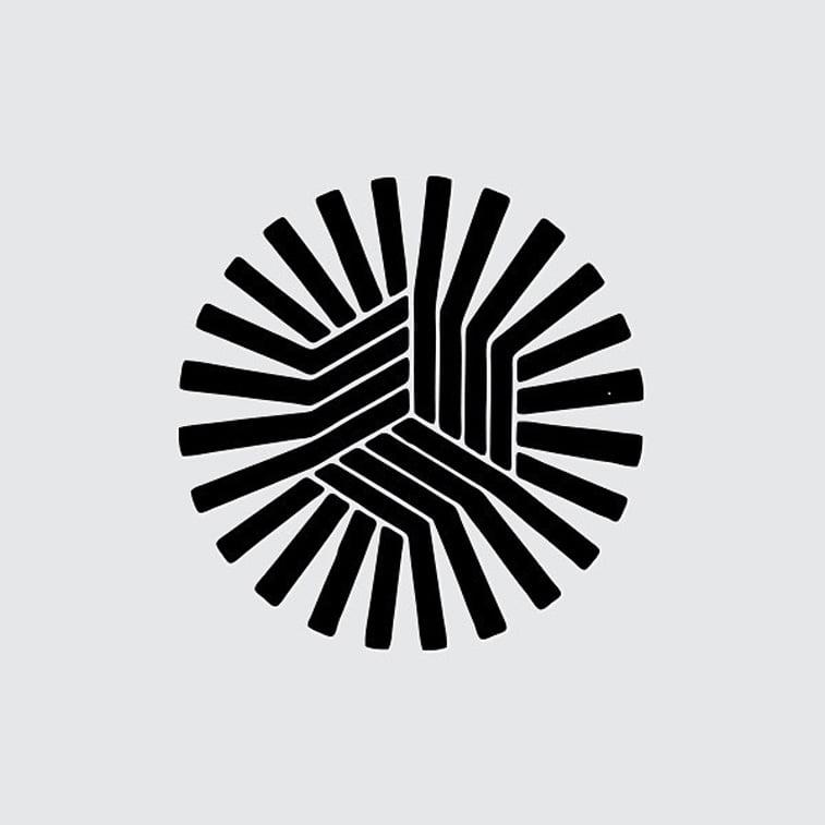 logo krug izometrija