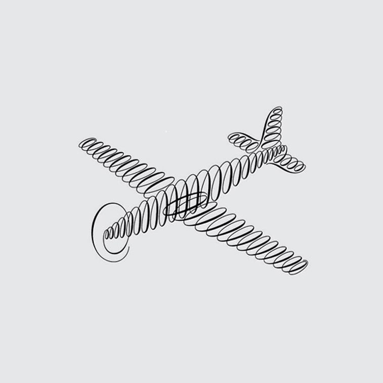logo dizajn fred tow avion
