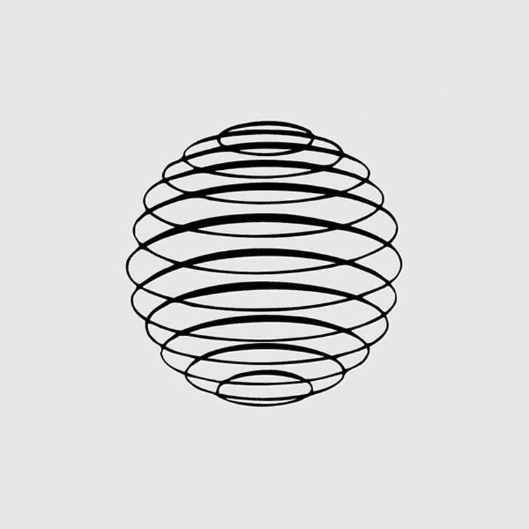 logo klub hemisfera linijski logo