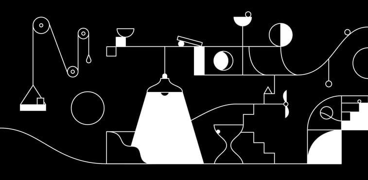 kontrast igrica lampa sat objekti