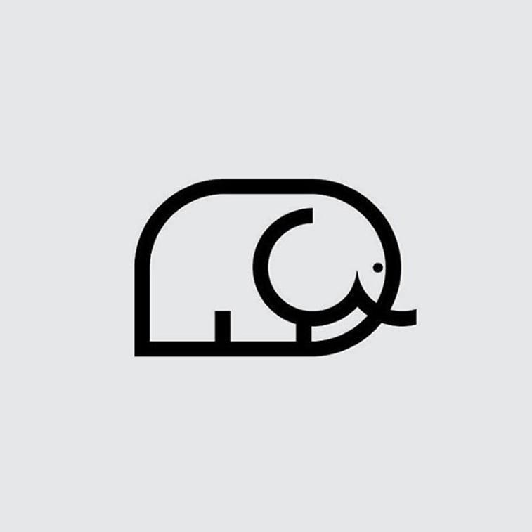 dizjan logoa crtez slon
