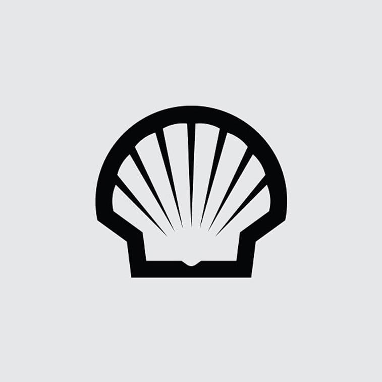 logo za kompaniju shell 1971. skoljka