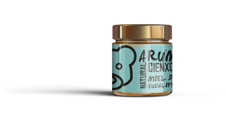 arume organic honey label 2 student project
