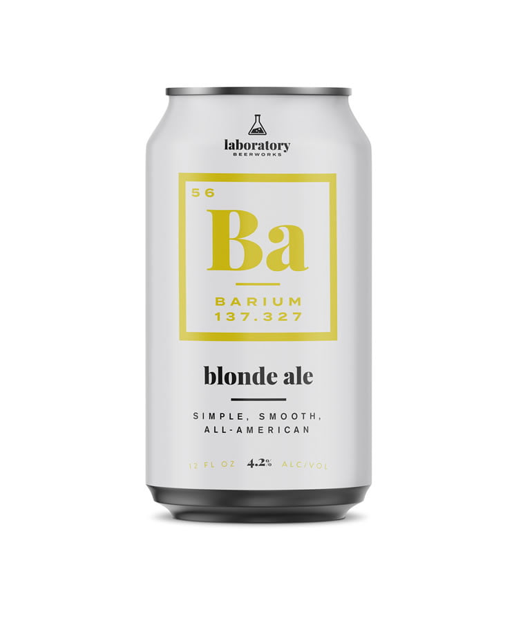 beer packaging design barium laboratory