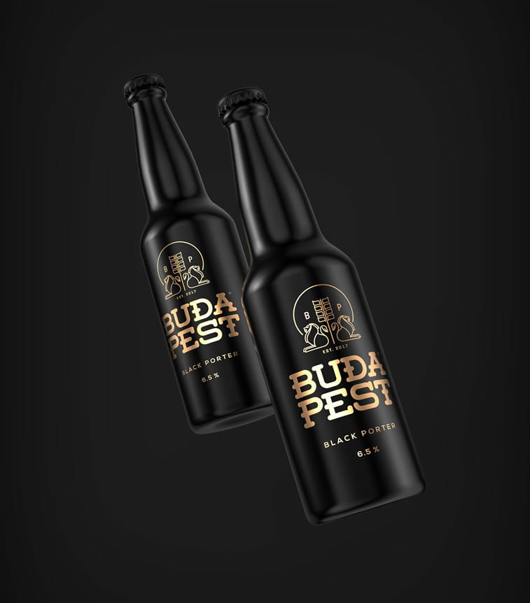 beer packaging design budapest 2