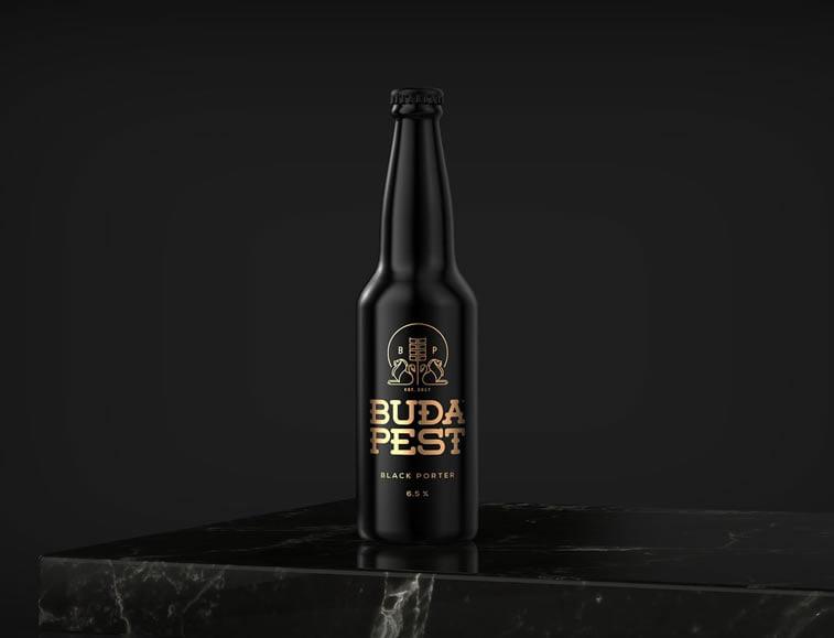 beer packaging design budapest beer 1
