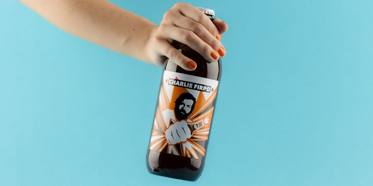 beer packaging design charlie firpo