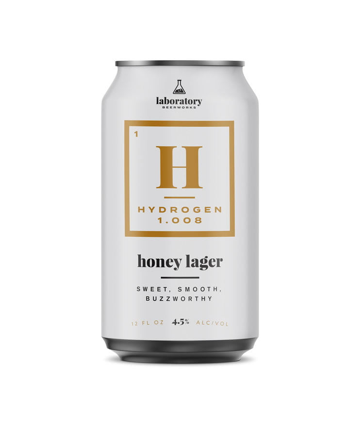 beer packaging design hydrogen lager
