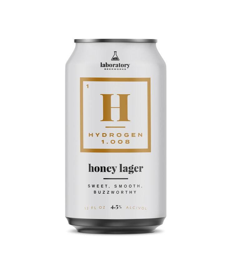 beer packaging design hydrogen lager