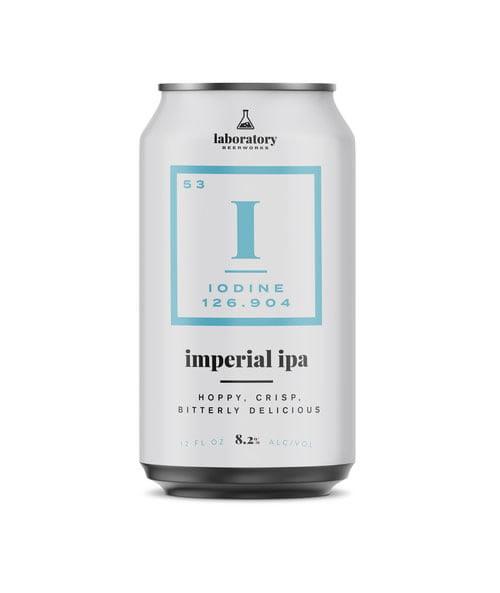 beer packaging design iodine