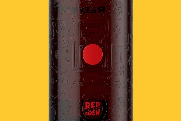 beer packaging design moscow red button 2